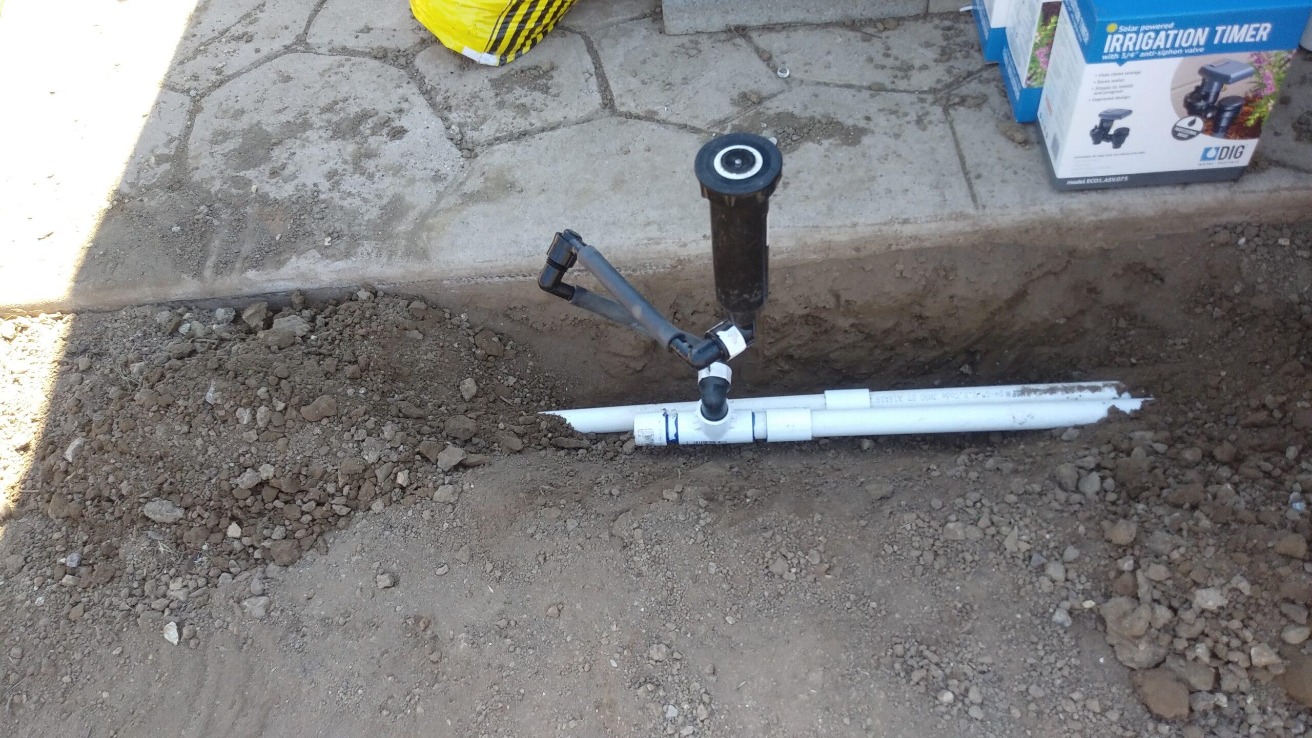 sprinkler installaton in lompoc ca