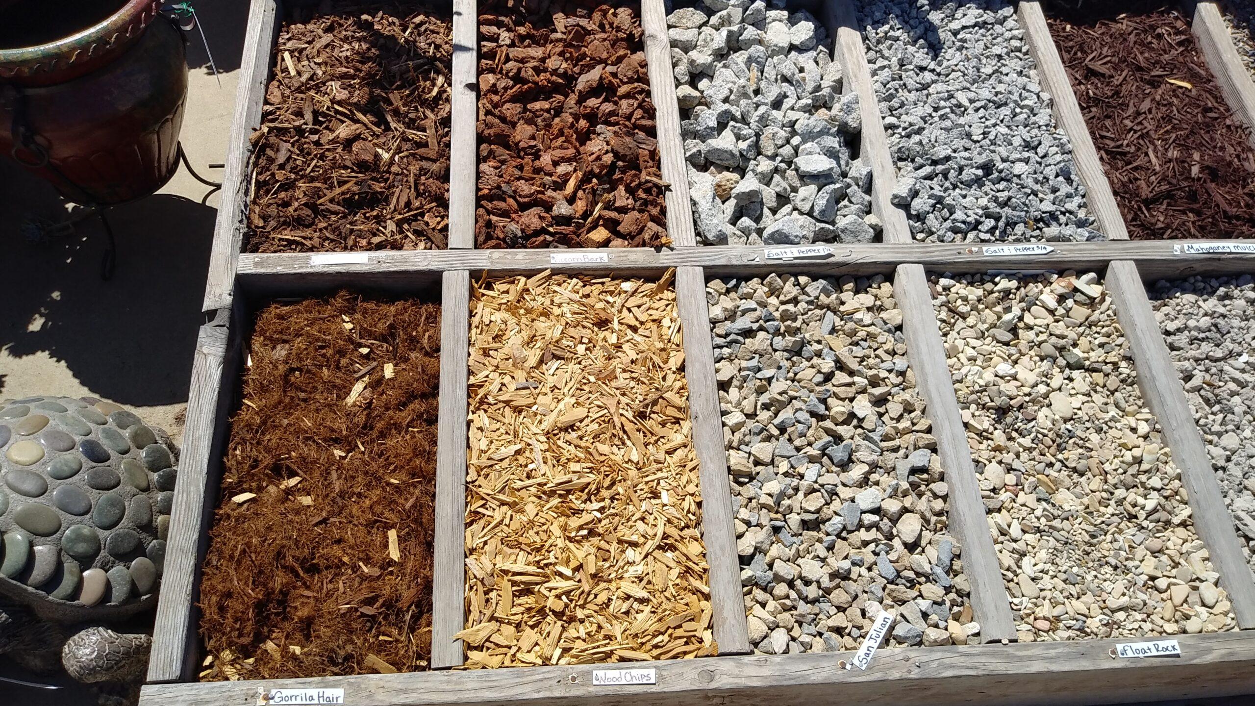 mulch and rock installation in lompoc ca